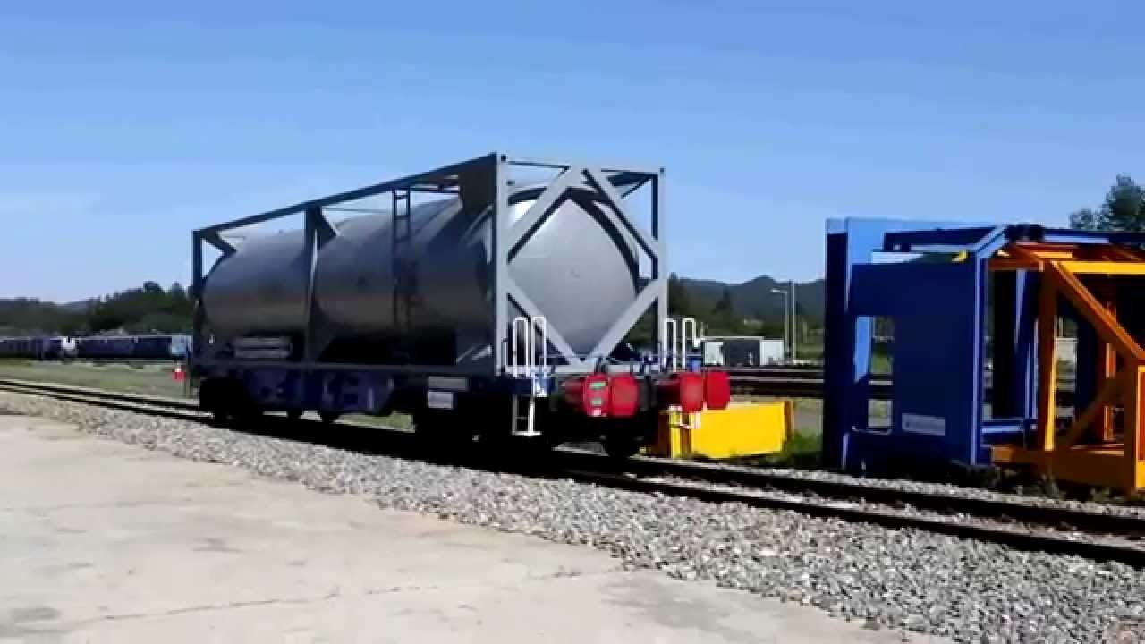 Rail-ISO-tank-containers